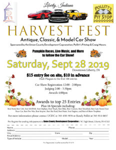 5th Annual Union County Harvest Fest @ Courthouse Square