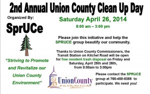 Union County Clean Up Day