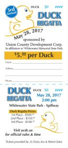 The 3rd Annual UCDC Duck Regatta! @ Whitewater Memorial State Park | Liberty | Indiana | United States