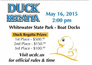 UCDC DUCK REGATTA @ Whitewater Memorial State Park | Liberty | Indiana | United States