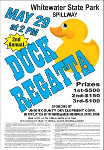2nd Annual Duck Regatta @ Whitewater Memorial State Park | Liberty | Indiana | United States