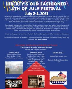 50th Annual 4th of July Celebration